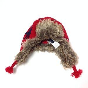 New Gap Kids Furry Winter Hat Size L/XL